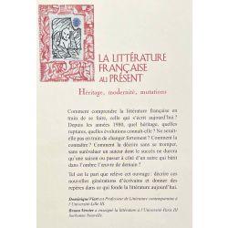 Viart/Vercier, La Littérature française au Présent.