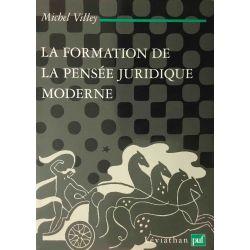 Villey, La Formation de la Pensée juridique moderne.