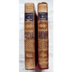 LA19 Voyage en Espagne du Chevalier Saint-Gervais, LANTIER 2 Volumes