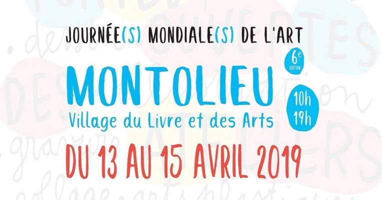 Les 6èmes Journées Mondiales de l'Art à Montolieu
